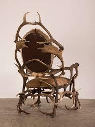 antler wine rack shed deer horn antler chair from bavaria germany torture chair