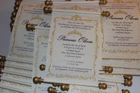 Scroll Invitation Rods Scroll Collection Karla U0027s Gift