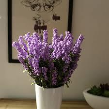 Flower Decorations For Home Online Get Cheap Lavender Flower Bouquet Aliexpress Com Alibaba