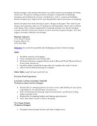 resume sles for interior designers 28 images interior design