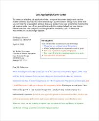 sample cover letter 9 examples in pdf word