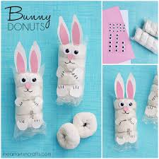 easter bunny donuts kids snack idea i heart arts n crafts