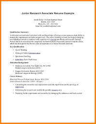 exle of basic resume associate degree resume exle template associates on junior