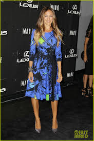 lexus new york fashion week sarah jessica parker disrupts the design with lexus for nyfw