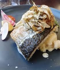 colin cuisine colin au four avec fenouil sur purée maison picture of restaurant