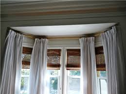 interesting bay window curtain ideas best house design