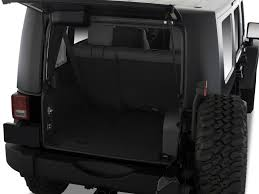 4 Door Jeep Interior Image 2008 Jeep Wrangler 4wd 4 Door Unlimited Rubicon Trunk Size