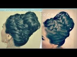 howtododoughnut plait in hair cute hairstyle how to never ending french braid sock bun