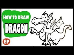 draw dragon cute easy pictures draw