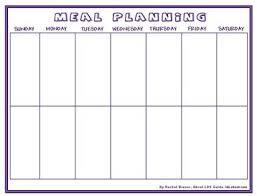 the 25 best meal planning templates ideas on pinterest menu