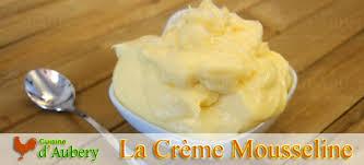 mousseline cuisine de la crème mousseline