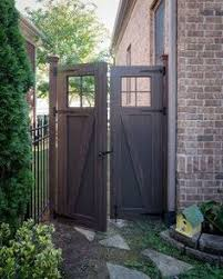 customer corner gate expectations wooden gates and garage doors