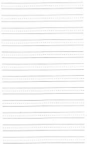 practice handwriting paper template noticeable writing tablet