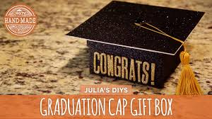 graduation boxes diy graduation cap gift box hgtv handmade