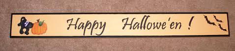 halloween plaques halloween