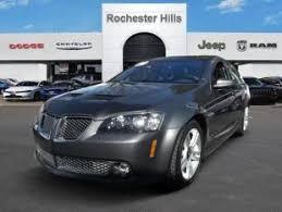 2008 Pontiac G8 Interior Used Pontiac G8 For Sale In Macomb Mi Cars Com