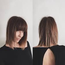 lob shag hairstyles bang bang lob shag cut by domdomhair hair goals