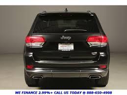 nissan jeep 2014 2014 jeep grand cherokee summit nav black warranty 164462 texas
