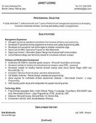 free resume examples an effective chronological resume free