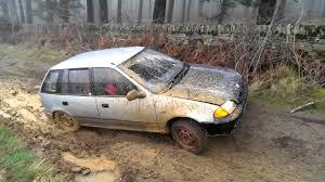 subaru justy subaru justy off road youtube