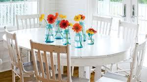 Orange Dining Room 100 Comfy Cottage Rooms Coastal Living
