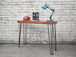 hairpin leg console table hairpin retro modern console table black holy funk