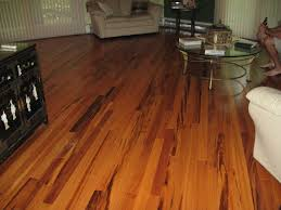 Floor Decor installation of Exotic Tigerwood 3 4 x 3 Smooth