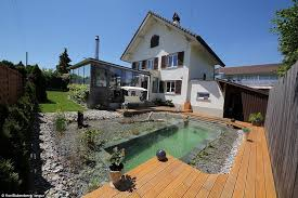How To Build A Pond In Your Backyard by Swiss Family Spends 34 000 And One Year Building Natural Swimming