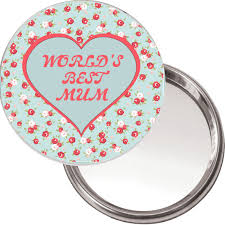 unique button mirror world s best mum ideal christmas or mothers