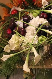 fruit flower arrangement fruit veggie floral design trends