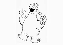 cookie monster coloring pages free coloring pages coloring