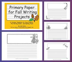 free writing paper for your fall writing projects