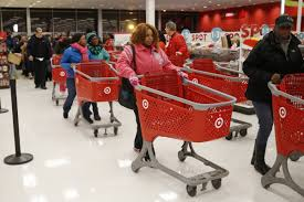 black friday hours target store black friday crowds business insider