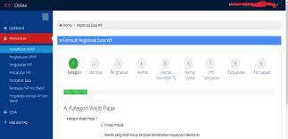 petunjuk membuat npwp online cara mudah mendaftar npwp pribadi secara online blog mas fathur