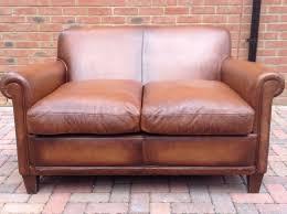 tan brown leather sofa laura ashley distressed tan brown leather burlington sofa rrp 2000