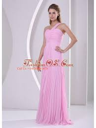 quince dama dresses pink one shoulder pleat dama dress for quinceanera 135 48