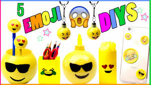 easy diy emoji projects for kids