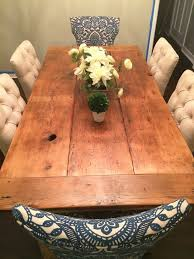 Reclaimed Wood Dining Table And Chairs 2013 Year In Review Farmhouse Table Room And Tables