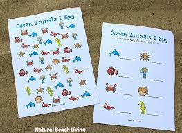 printable animal activities the best ocean animals preschool activities and printables