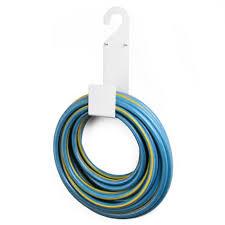 amazon com white garden hose holder wall mount durable very