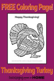 free turkey coloring thanksgiving