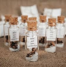 hochzeitsgeschenke f r die g ste hochzeitsgeschenke für gäste eine flaschenpost rustikale