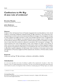 lexisnexis questions and answers evidence confessions to mr big a new rule of evidence pdf download