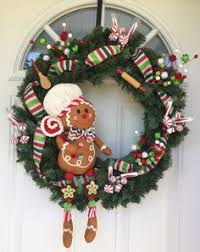 Christmas Decorations For Outside Door by Christmas Wreath Mesh Christmas Wreath Outdoor Door Wreath