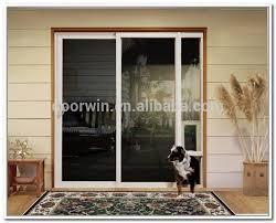 Glass Door With Dog Door Built In by Sliding Glass Door For Living Room Sliding Glass Door For Living