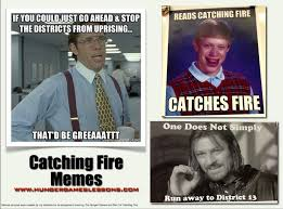 catching fire memes created by students catching fire