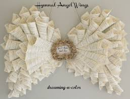 angel wings they u0027re made of music sheets and can be made with