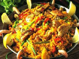 recette de cuisine portugaise facile paella portugaise arroz à valenciana marmite du monde