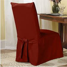 Sure Fit Dining Chair Slipcover Sure Fit Cotton Duck Dining Chair Slipcover Walmart