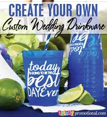 totally wedding koozies coupon code create your own custom wedding drinkware with us choose from our